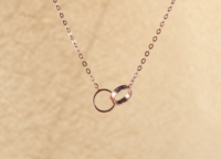 Bonded Rings Necklace